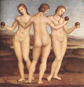 Рафаэль. Три грации. 1504